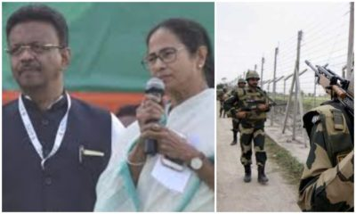 TMC accuses BSF of working for BJP's benefit, BSF hits back
