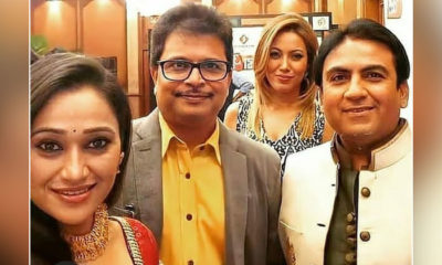 TMKOC: Disha Vakani's picture with Dilip Joshi and Munmun Dutta goes viral; fans request her to come back | Bollywood Bubble