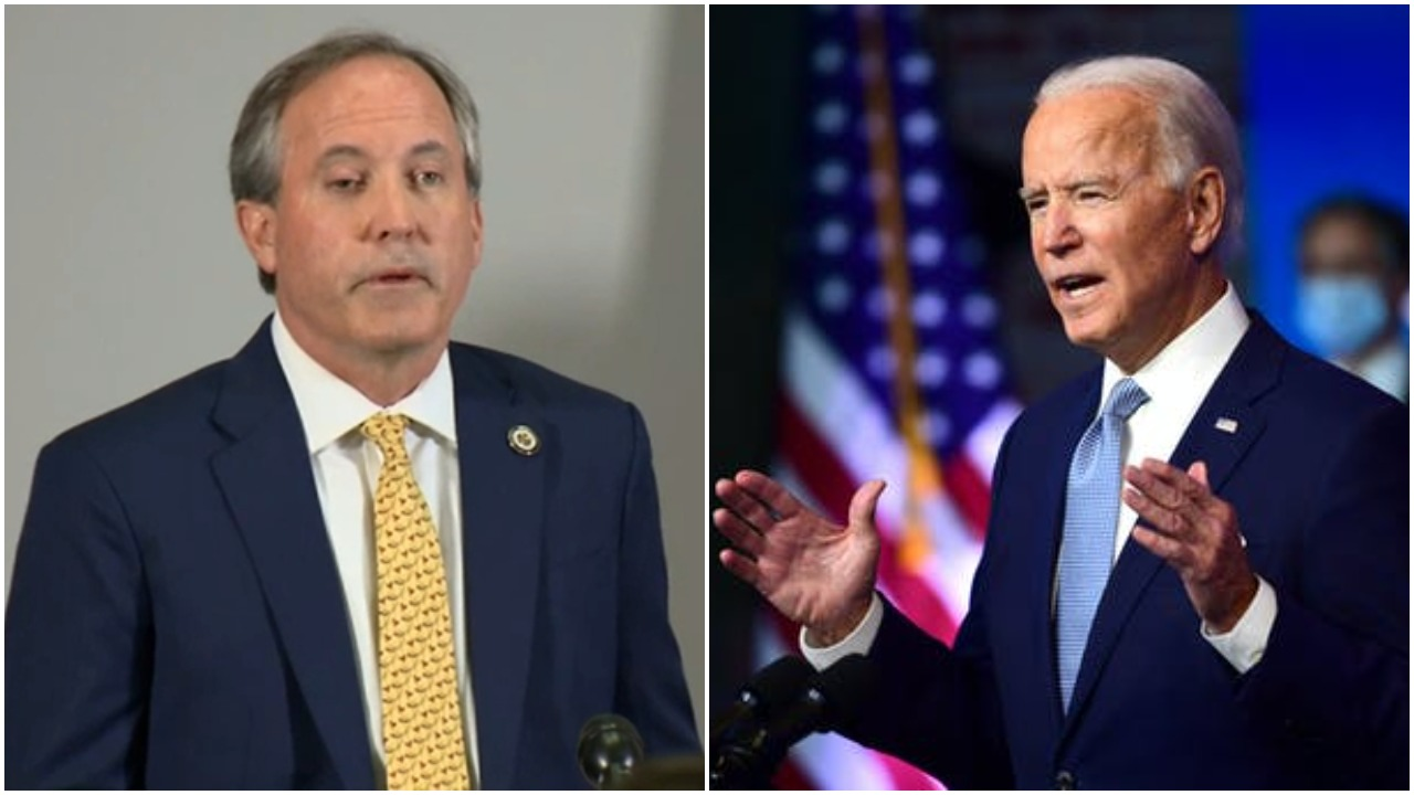 Texas sues Biden administration over freeze on immigrants' deportation