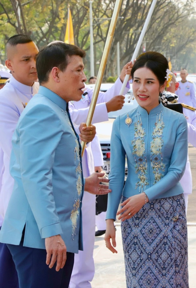 Thailand King names 'royal consort' Sineenat as the second queen