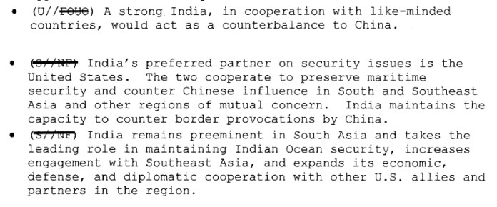 US envisions growing role of India in Indo-Pacific to counterbalance China