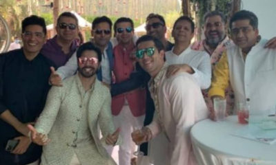 Varun Dhawan and Natasha Dalal Wedding: The actor's pre-wedding rituals kick start | Bollywood Bubble
