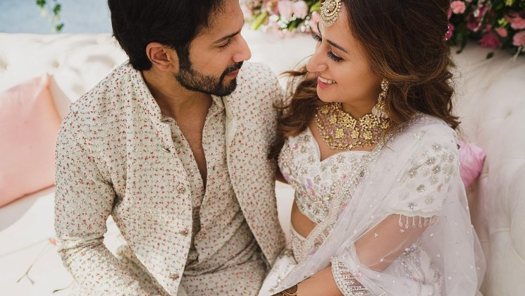 Varun Dhawan has fans drooling over his romantic pictures with wife Natasha Dalal from their Mehndi ceremony | Bollywood Bubble