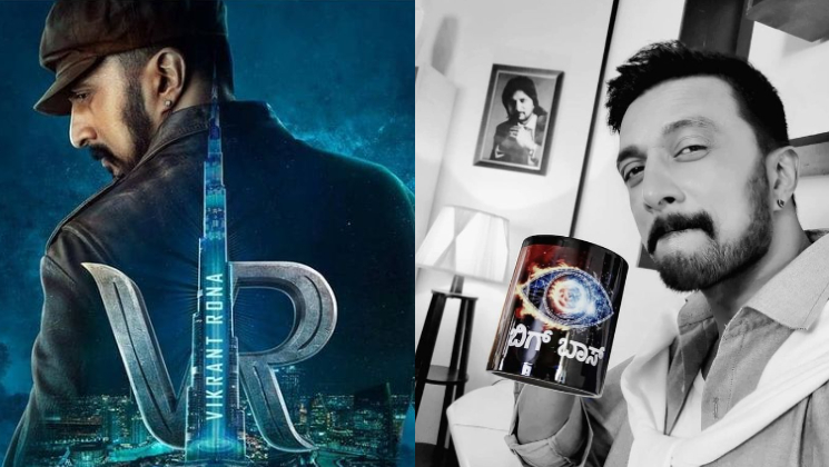 Vikrant Rona: Kichcha Sudeep on unveiling the logo of his action-adventure at Burj Khalifa | Bollywood Bubble