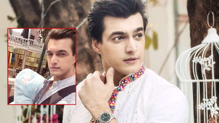 YRKKH: Mohsin Khan aka Kartik quips about playing a single father as he shoots with a doll | Bollywood Bubble