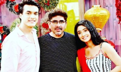 YRKKH: Producer Rajan Shahi cheers Mohsin Khan and Shivangi Joshi | Bollywood Bubble