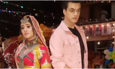YRKKH: Shivangi Joshi goes the traditional way as Sirat; Mohsin Khan serves a handsome look | Bollywood Bubble