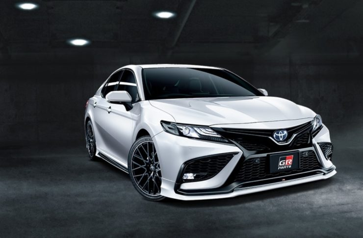 Toyota Camry GR body kit sensual sporty style front