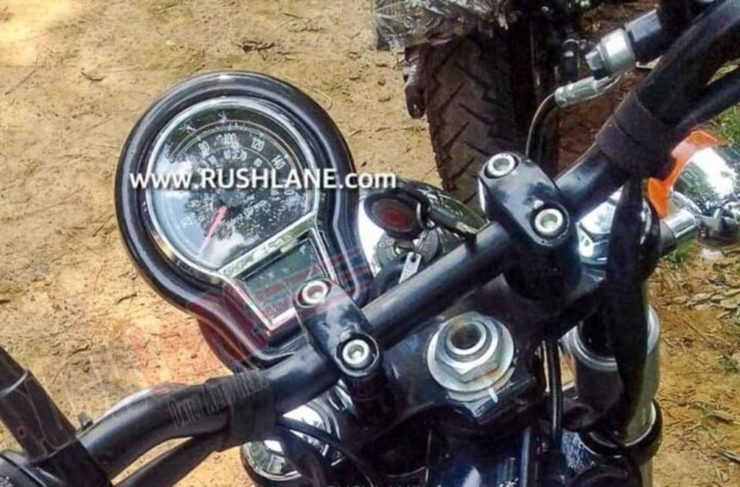 Royal Enfield Hunter 350 instrument cluster