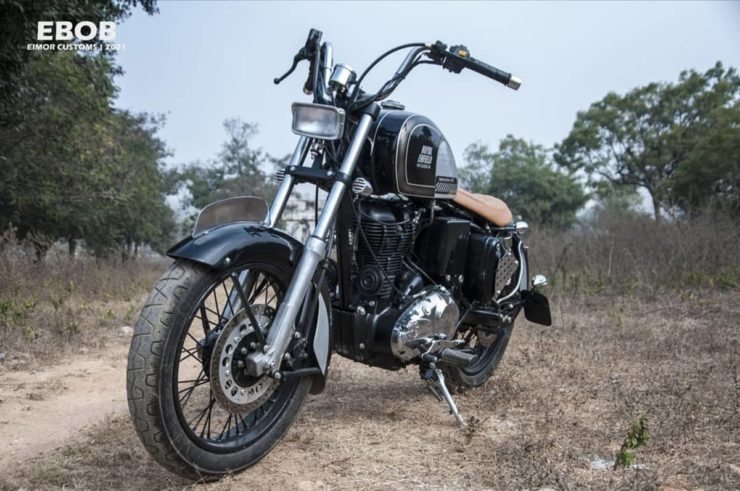Royal Enfield Classic 350 bobber 1