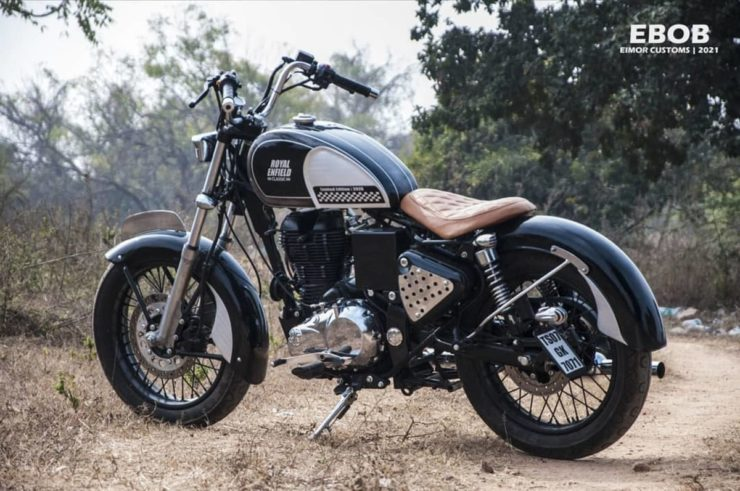 Royal Enfield Classic 350 bobber 2