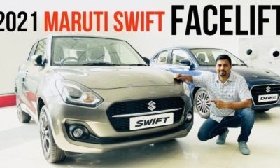 2021 maruti suzuki swift video