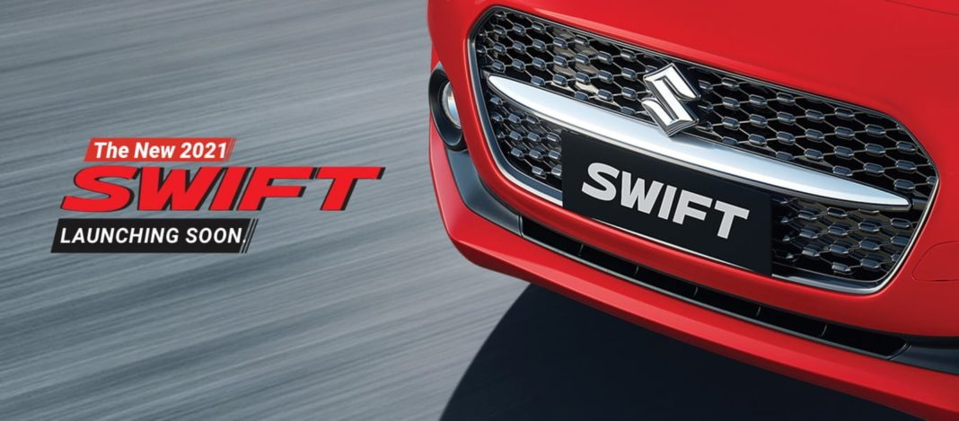 2021 Maruti Swift teaser