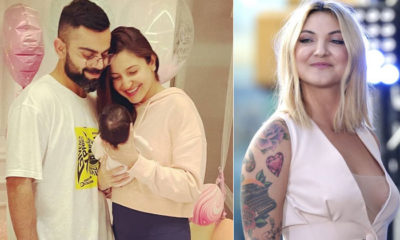 Anushka Sharma and Virat Kohli share their daughter Vamika's first picture; actress' doppelganger, Julia Michaels reacts | Bollywood Bubble