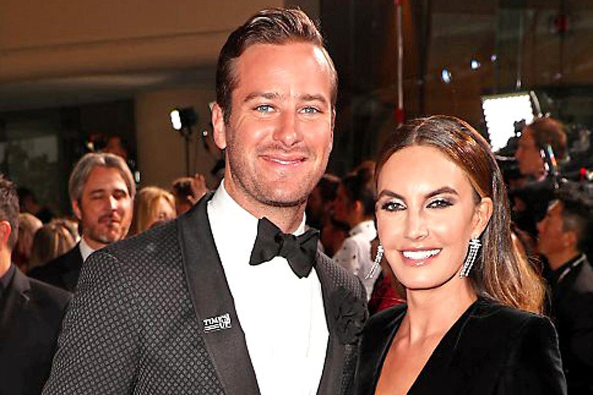 Armie Hammer's wife breaks silence after message controversy