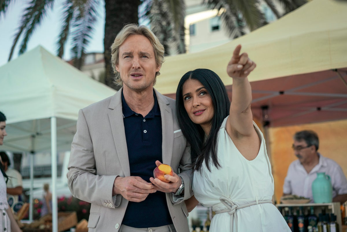 Bliss: Salma Hayek and Owen Wilson do our heads in with style