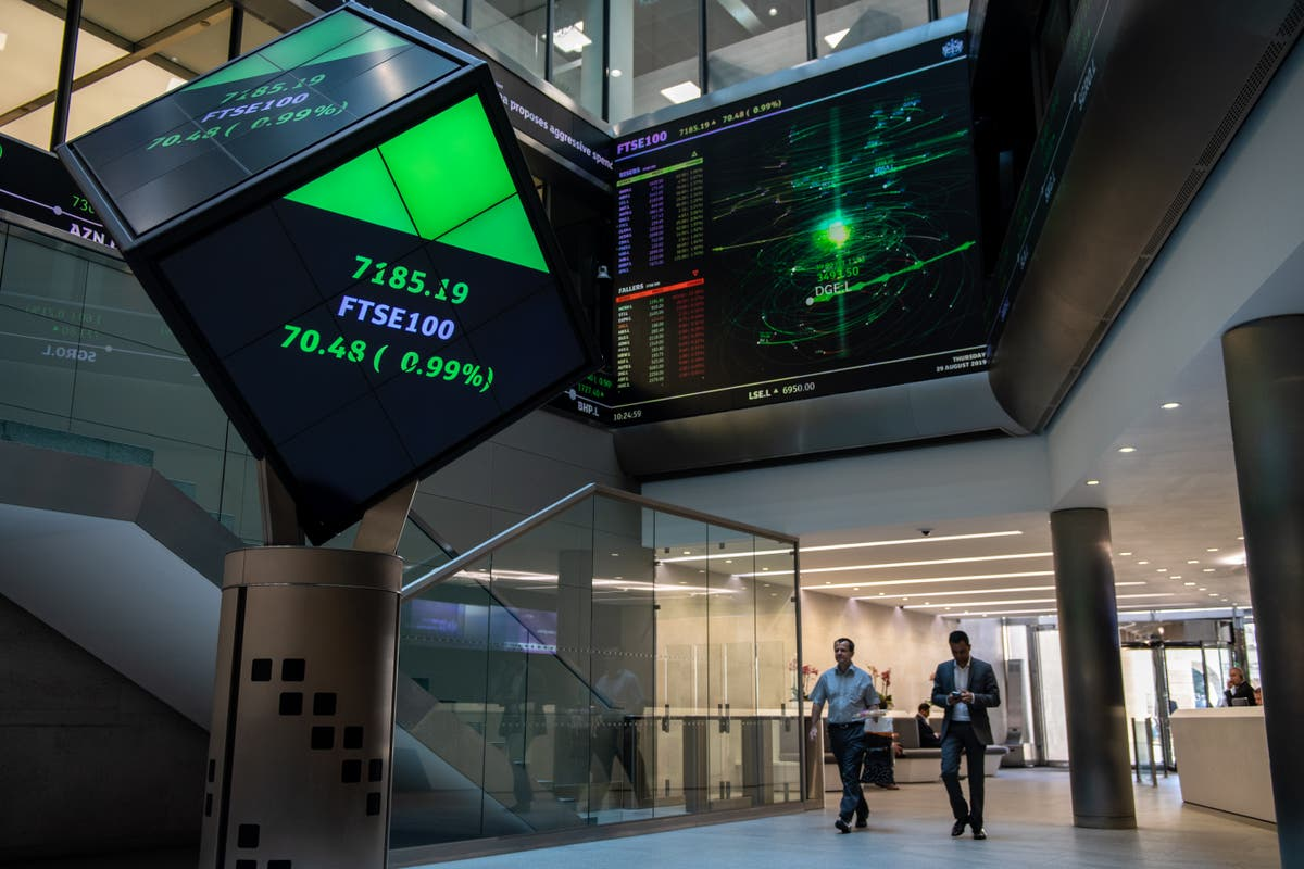 FTSE 100 set to rise as investors wait for bank reporting season to start and US data in focus