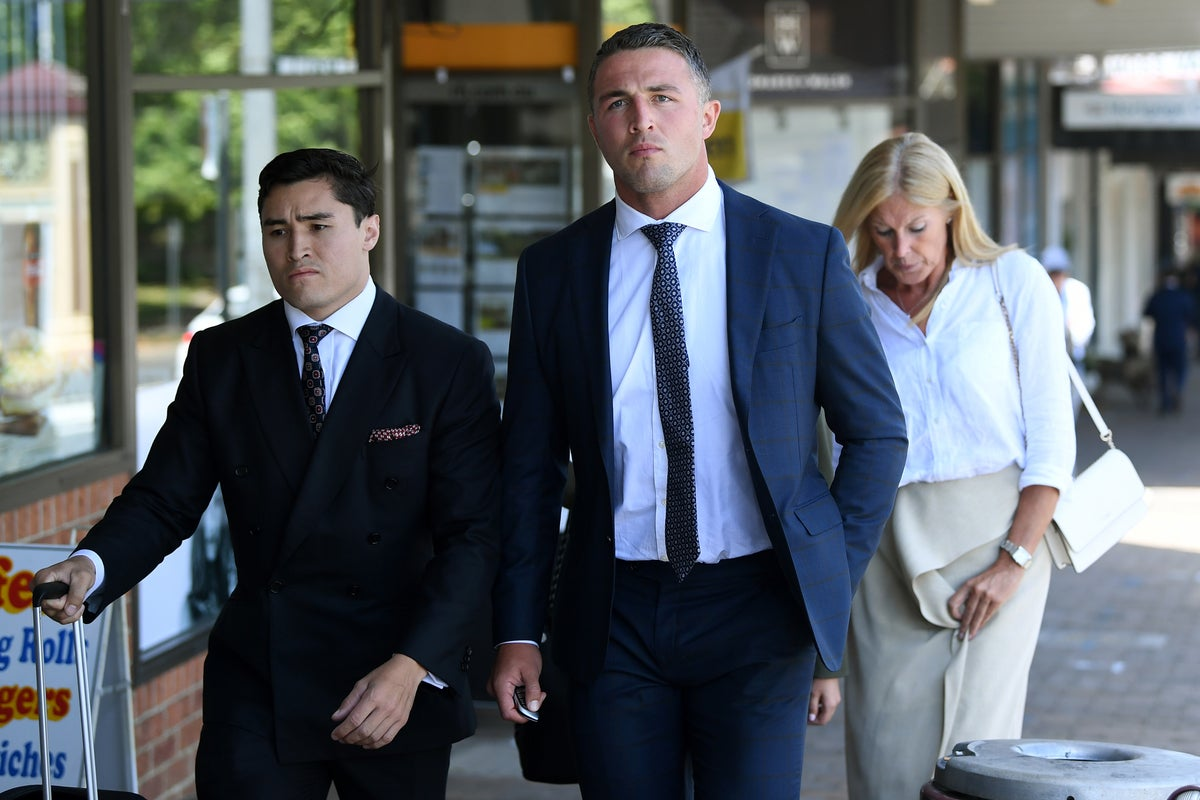 Former England rugby league star Sam Burgess guilty of intimidation