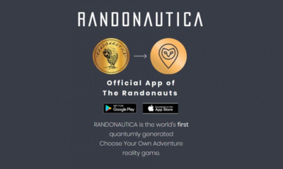 Randonautica website home page