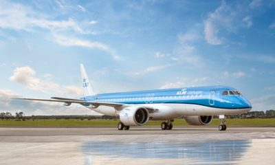 KLM Cityhopper welcomes first Embraer E195-E2 to fleet