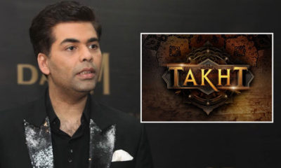 Karan Johar reacts to rumours of Takht being shelved | Bollywood Bubble