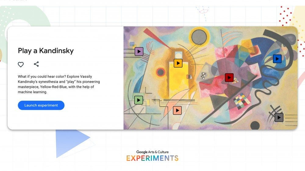 Hear the Sound of Color with Google's Synesthesia Tool