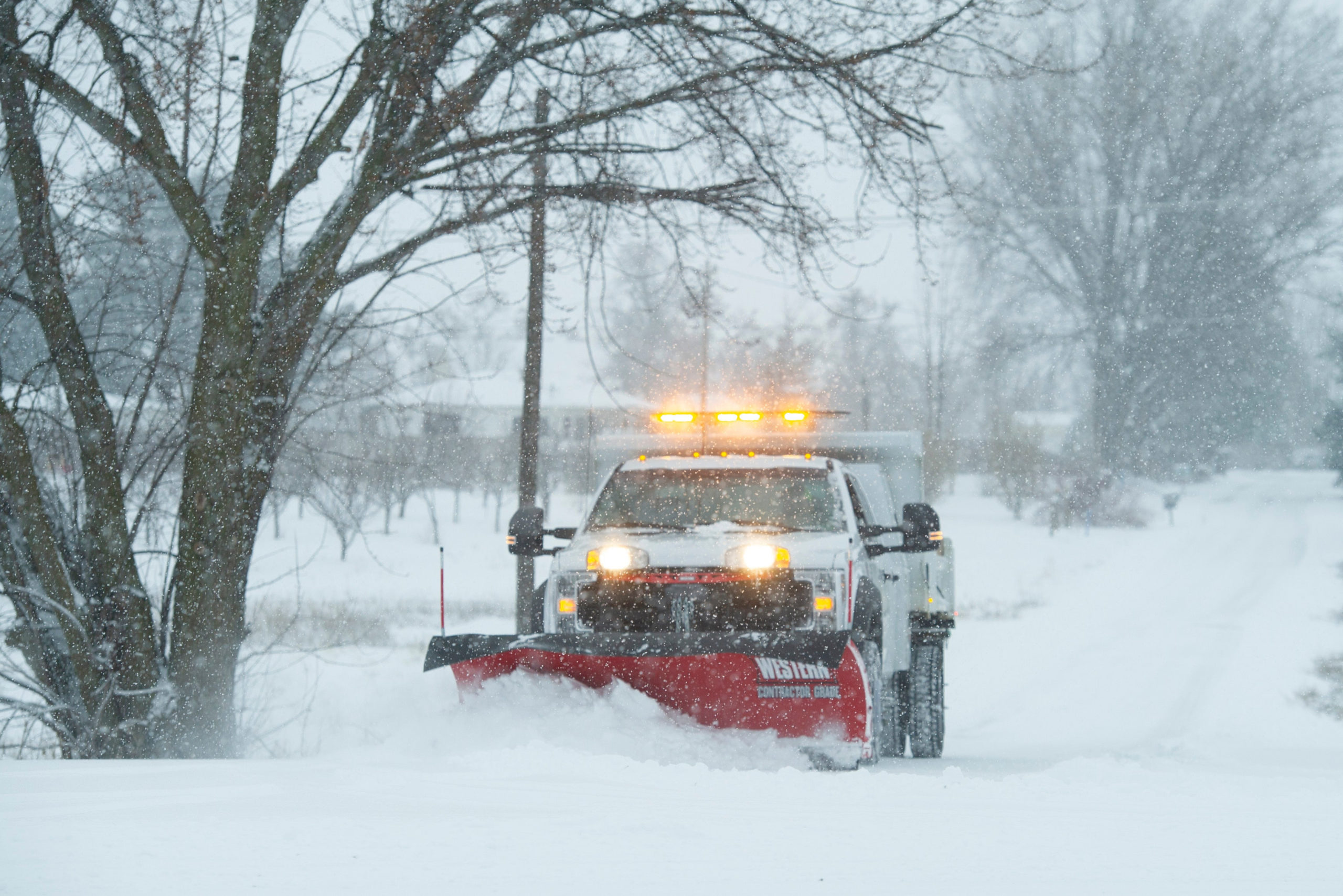 <p>Snow fell throughout Western Washington and parts of Oregon on Thursday</p>