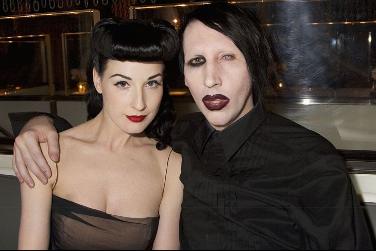 Marilyn Manson's ex Dita Von Teese speaks out over abuse allegations