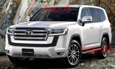 New genertion Toyota Land Cruiser
