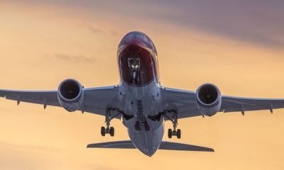 Norwegian operated just eight aircraft in January