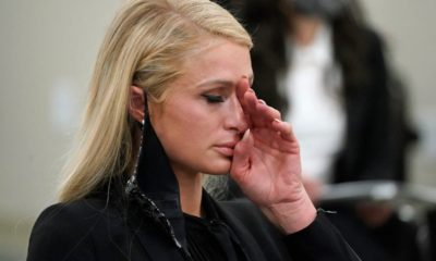 Paris Hilton in tears as she describes being abused at boarding school