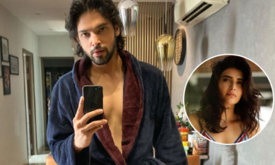 Parth Samthaan's bathrobe selfie leaves fans crazy | Bollywood Bubble
