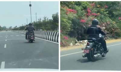 2021 Royal Enfield 650 cruiser spied 3
