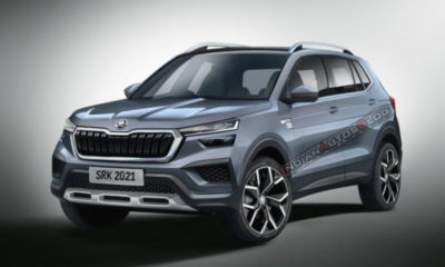 skoda kushaq rendered