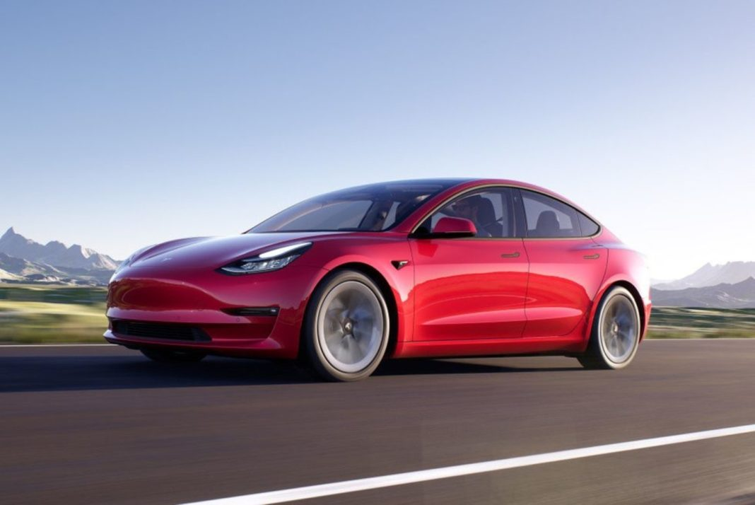 2021 Tesla Model 3 feature