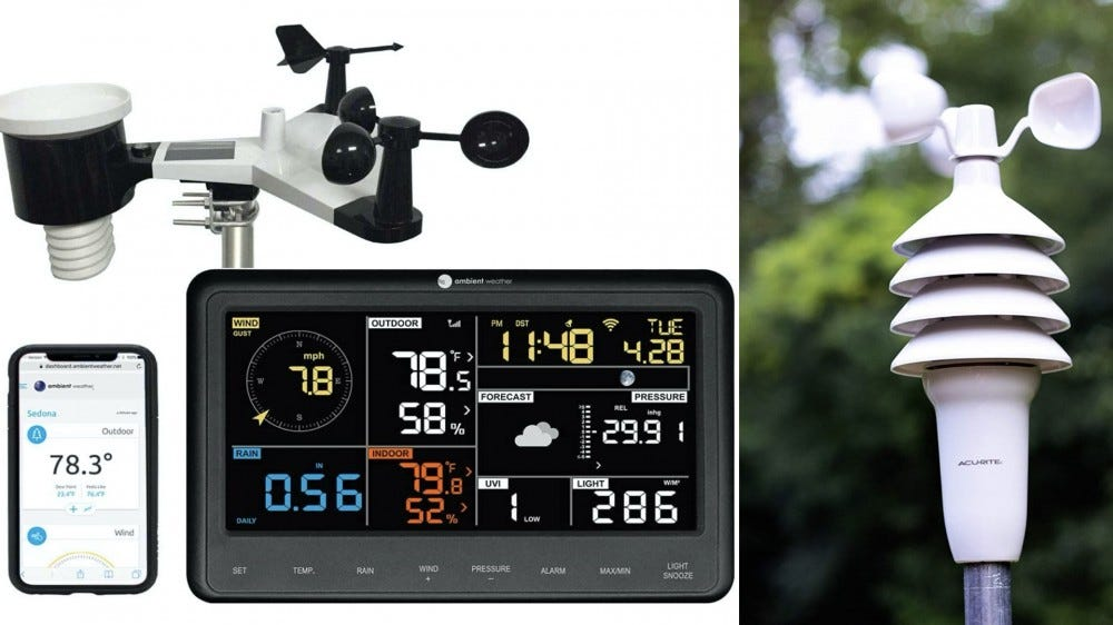 Mountable Weather Stations