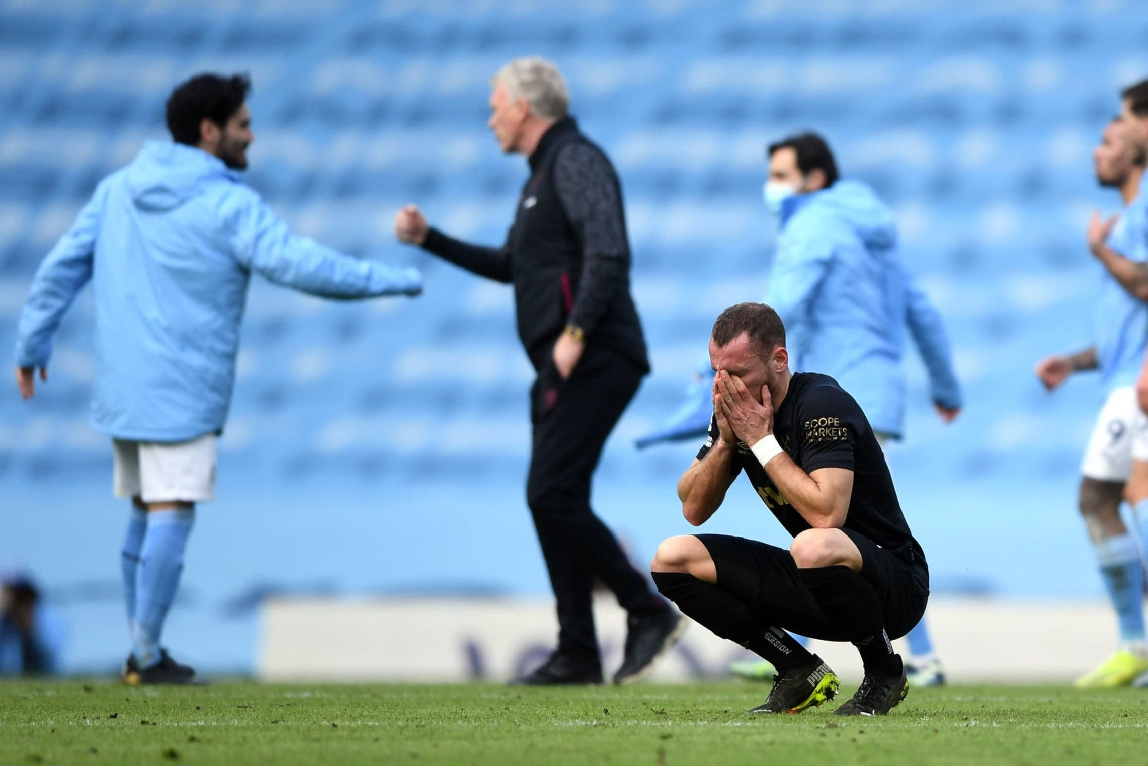 West Ham take heart in defeat despite being undone by Man City's clinical touch