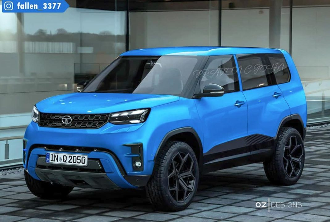 Production Ready Version Tata Sierra Rendered