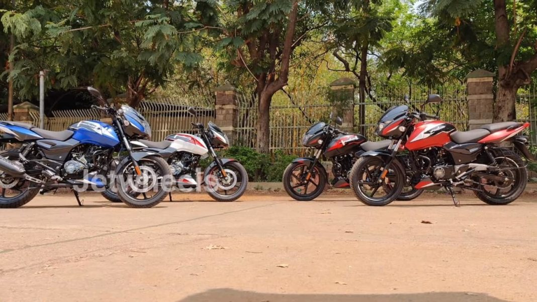 2021 Bajaj Pulsar 150 Twin Disc new colour options