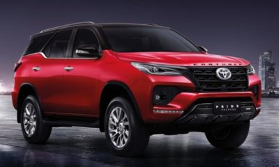 2021 Toyota Fortuner Pride Package II 1