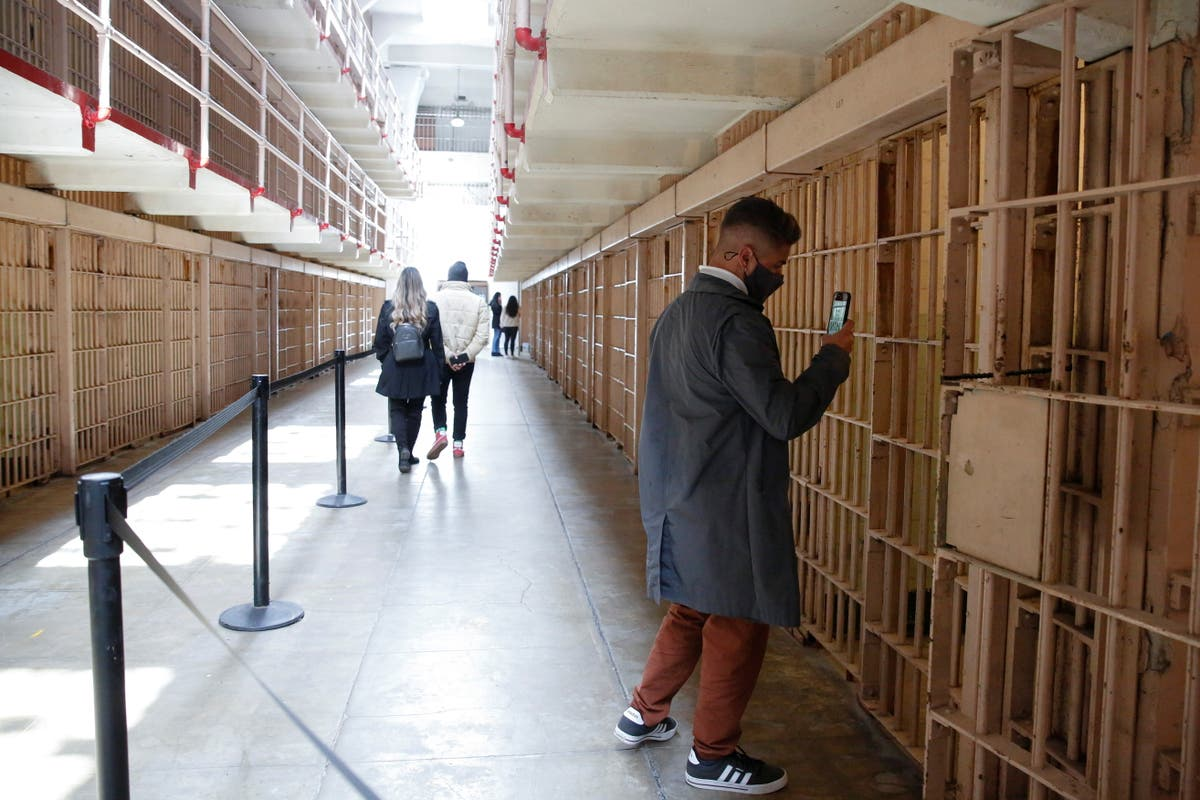 Alcatraz reopens for indoor tours for first time since the pandemic