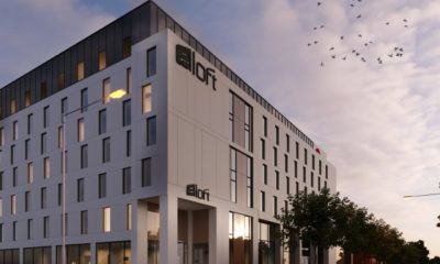 Aloft Birmingham Eastside opens to first travellers