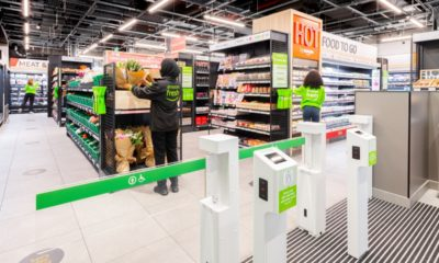 Amazon opens first cashless London no-tills grocery shop