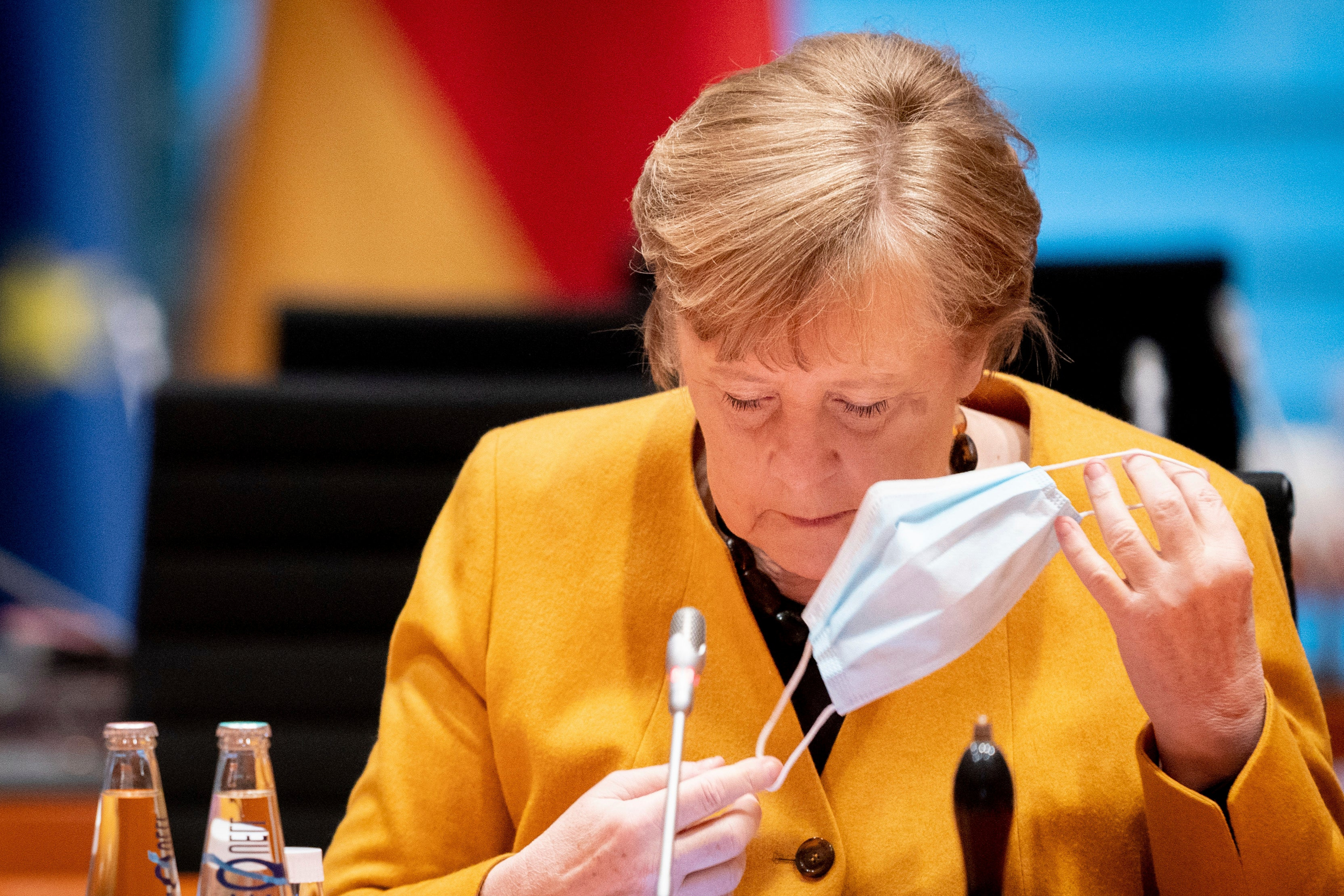 Angela Merkel cancels Germany's five day Covid lockdown, saying: 'It was mistake'