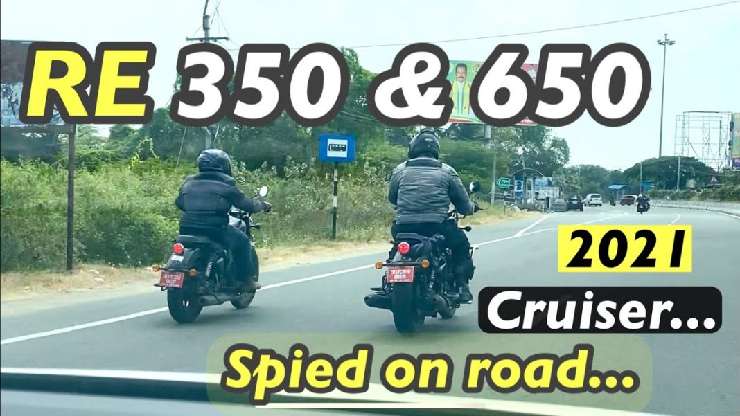 Upcoming New Royal Enfield Bikes Spied On Test Together
