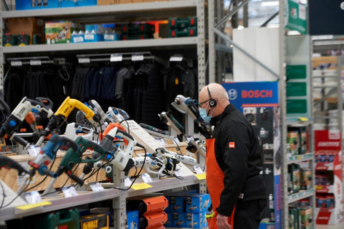 B&Q owner sees sales lifted by lockdown DIY boom