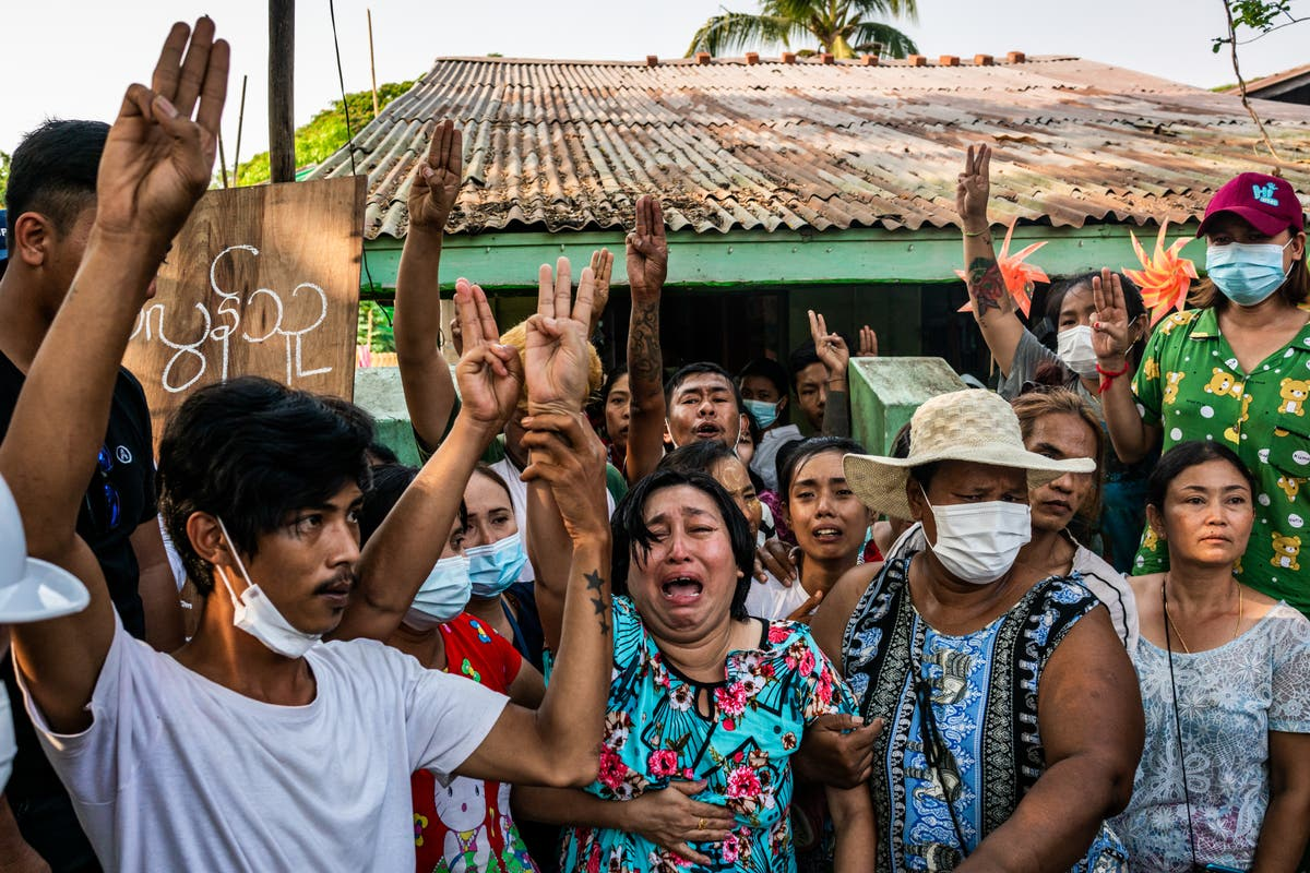 Britain urges citizens to flee Myanmar amid bloody protest crackdown