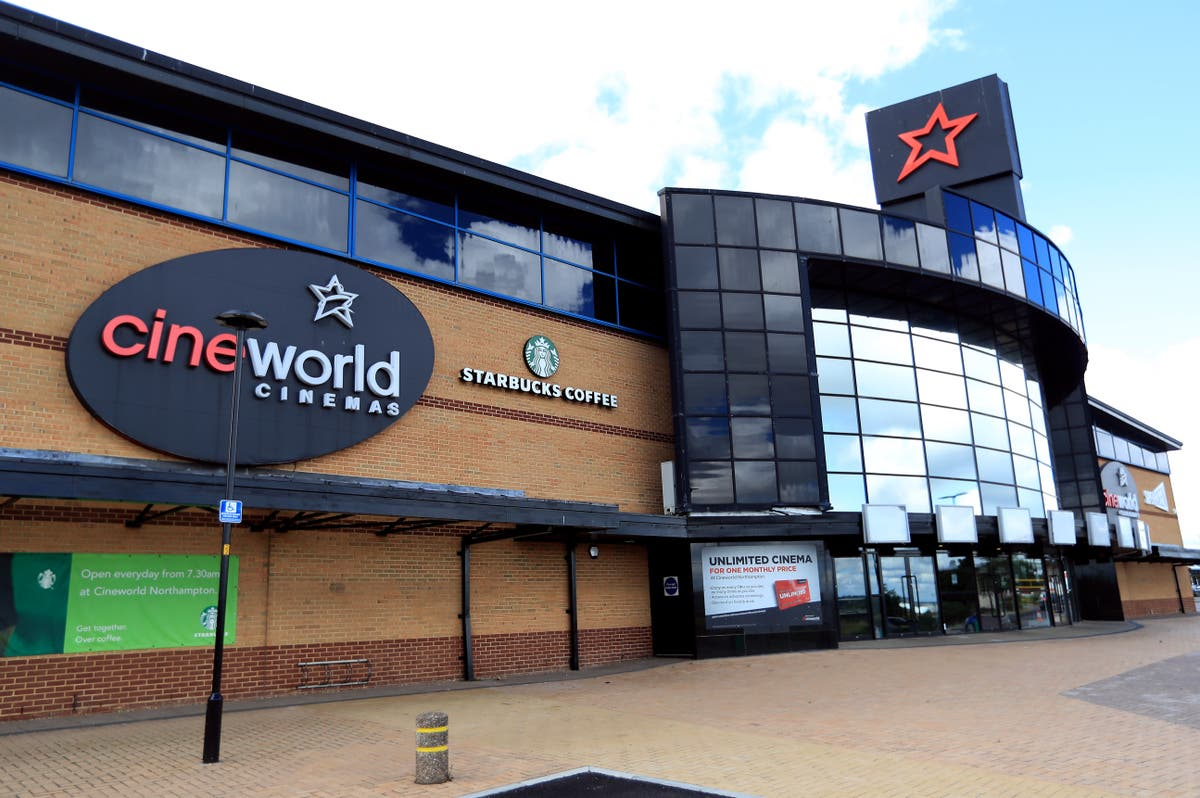 Cineworld reveals record $2.3 billion loss and raises more debt as chiefs insist pandemic recovery is in sight