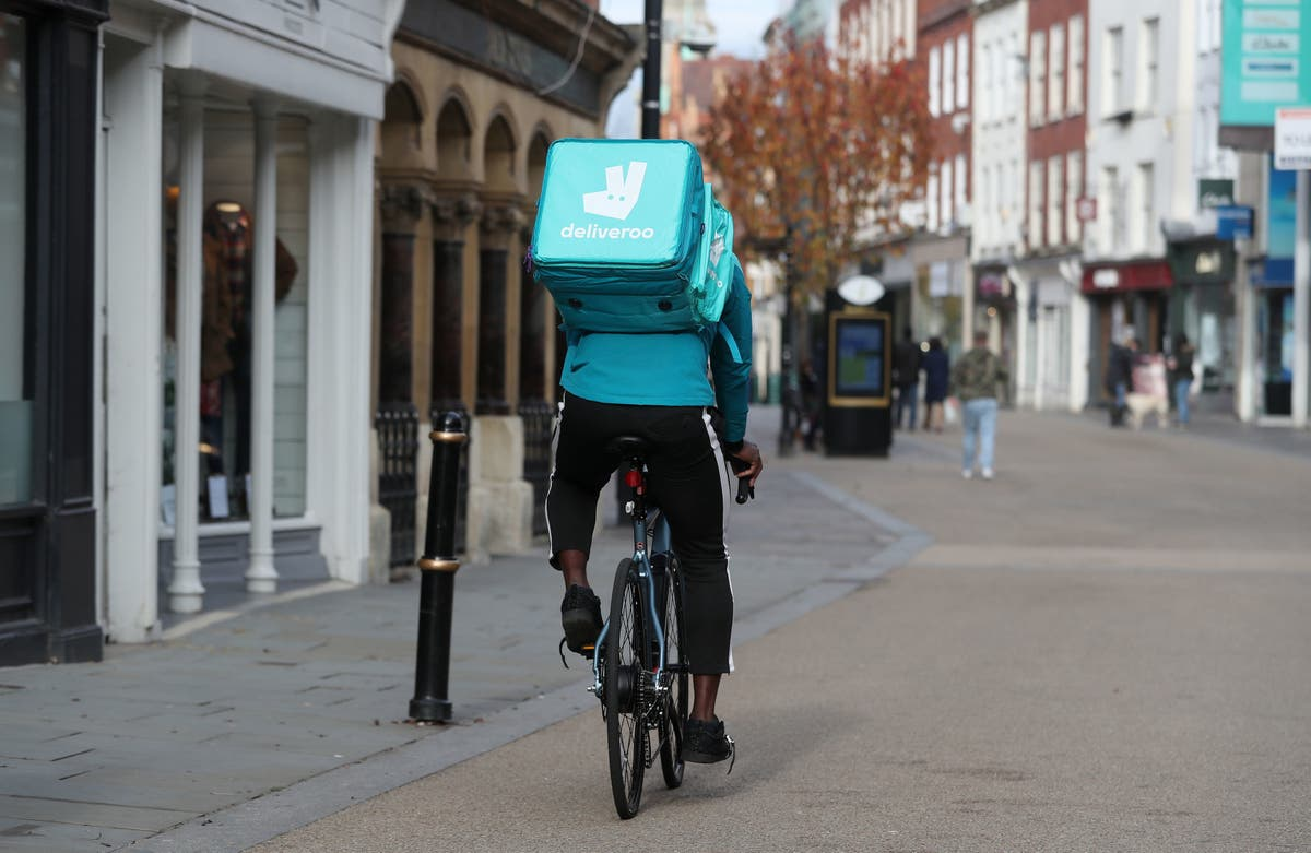 Deliveroo shares plummet on first day of IPO trading
