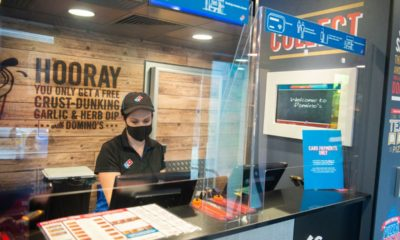 Domino's Pizza 'to open 200 new stores and create 7,000 jobs' after recording busiest ever week in 2020